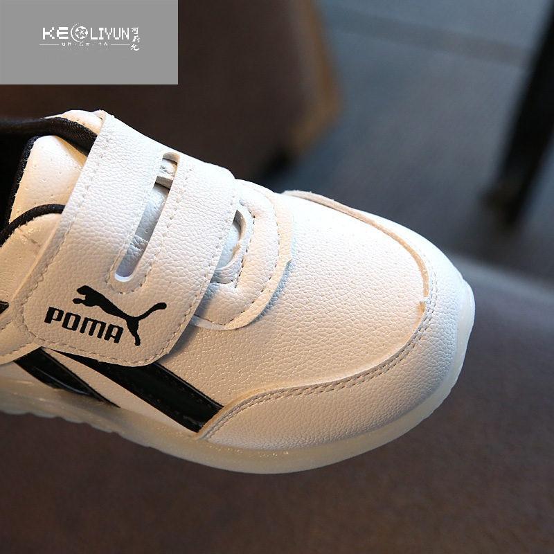 可莉允时尚品牌小孩子7男孩8宝宝9女童儿童鞋子2男童运动鞋4夏秋1-10