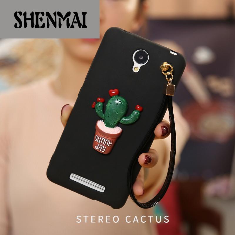 shm品牌红米note2手机壳硅胶小米可爱创意挂绳保护套防摔软外壳男女款