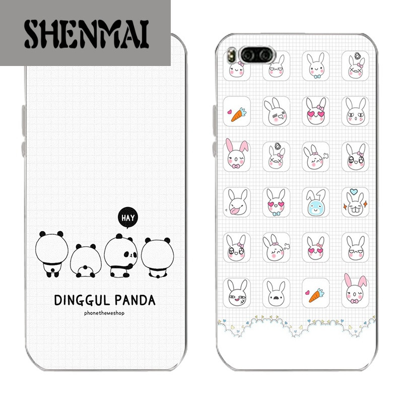 shm品牌小米6手机壳mi6plus保护套小米max2软硅胶可爱