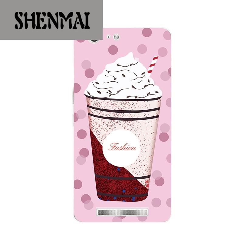 品牌金立m5手机壳m5plus保护套软硅胶创意夏日清凉雪糕女款个性可爱