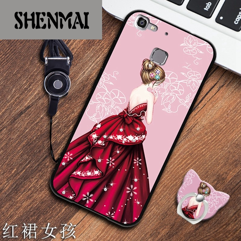 手机套品牌_shm品牌华为畅享5s手机壳tag-al00个性手机套创意指环