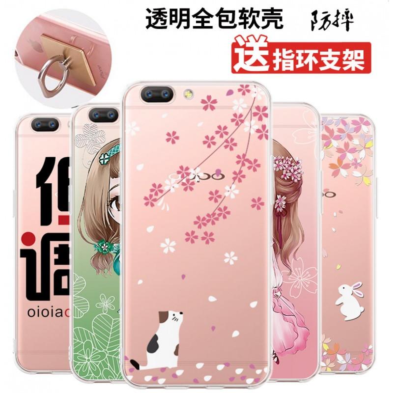 2017款oppor11手机壳0pp0r11保护套poopr11软胶opop卡通0ppor