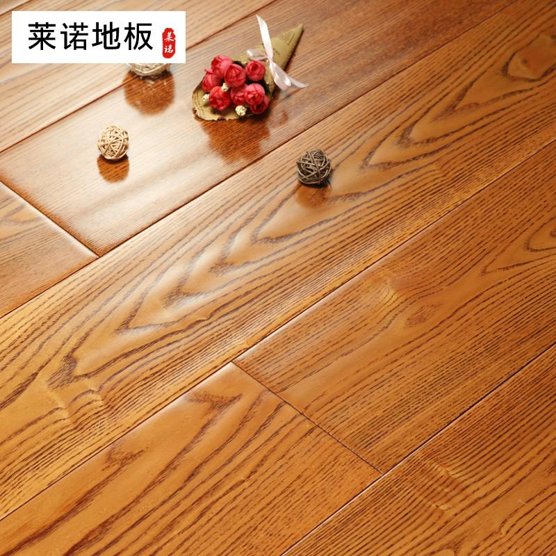 莱诺地板 纯实木地板白蜡木宽板北美进口仿古手刨 18mm厂家直销 白蜡