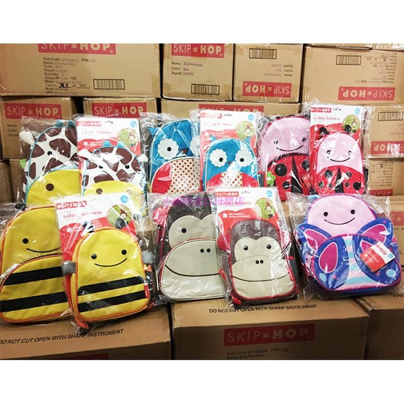 818款美国动物园系列婴幼儿童宝宝防走失书包与幼儿园