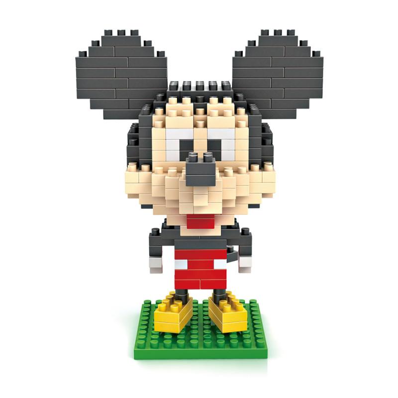 新款小颗粒拼装玩具 米奇老鼠系列 米奇玩具积木微钻颗粒积木-9413
