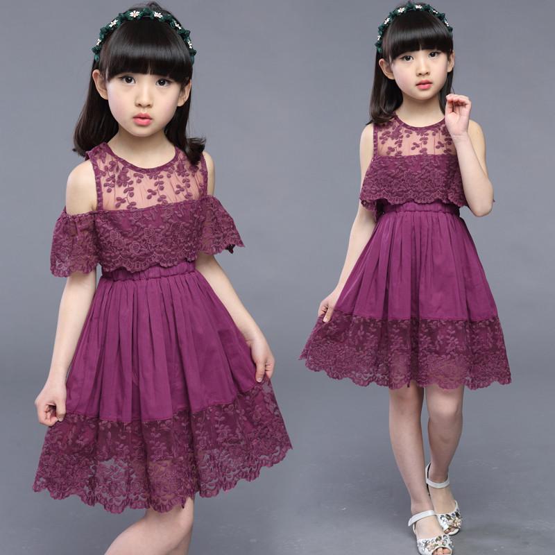 娉语儿童装女童连衣裙子夏装女大童公主裙夏季小学生10小女孩15岁