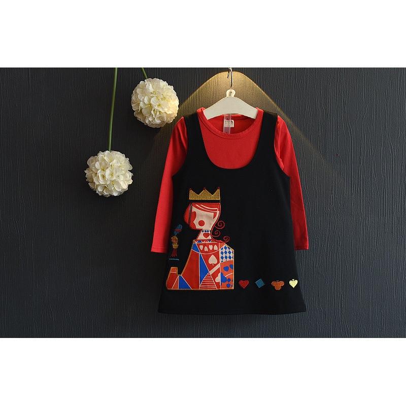 娉语女童套装秋季新款2018韩版宝宝卡通时尚百搭衣服小女孩休闲两件套