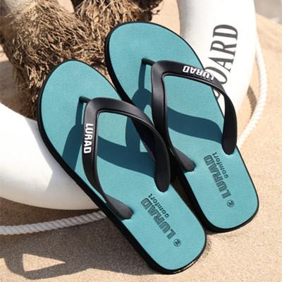 路拉迪男士人字拖夏季防滑戶外涼拖夾腳拖鞋男休閑橡膠底沙灘鞋潮流時尚休閑