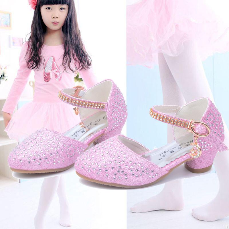 欧美色情巨乳波霸囹�a_娉语包邮童鞋新款小女孩高跟凉鞋公主水晶鞋女童高跟鞋儿童单鞋舞蹈鞋
