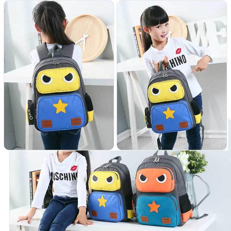 娉语瑞牌机器人书包小学生女 儿童幼儿园背包卡通6-12周岁宝宝双肩包