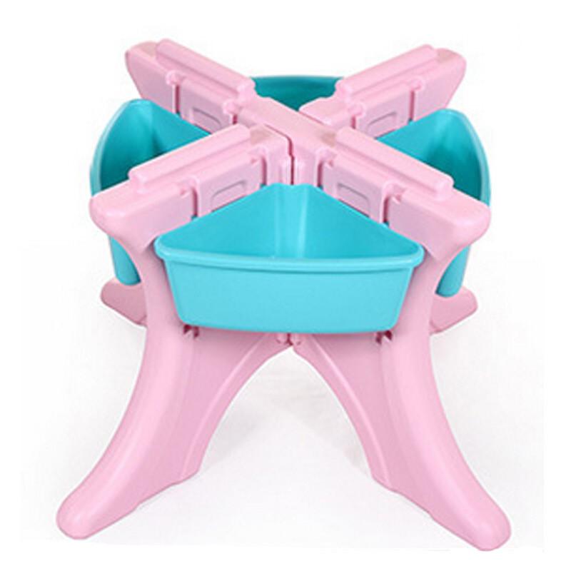 儿童学习桌椅套装幼儿园宝宝画画书桌多功能玩具台