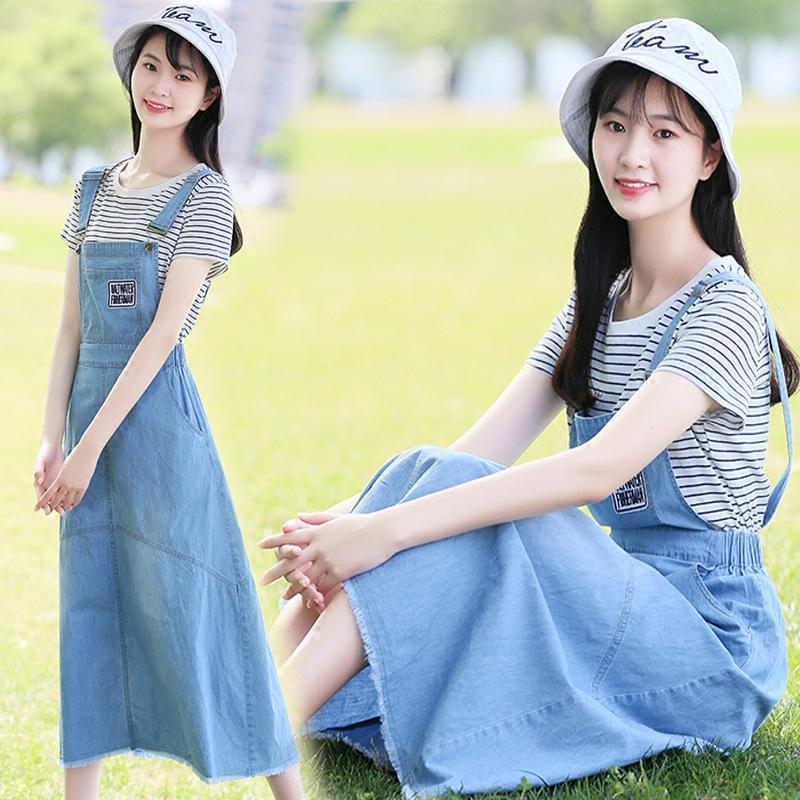 少女装_828新款16夏装少女装13初中高中学生15岁女孩12裙子大