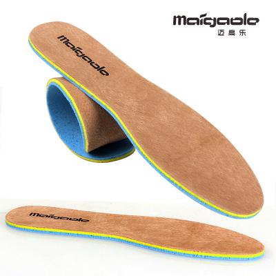 828新款2双装 防臭鞋垫男真皮厚软减震鞋垫透气舒适吸汗皮鞋垫女运动鞋垫