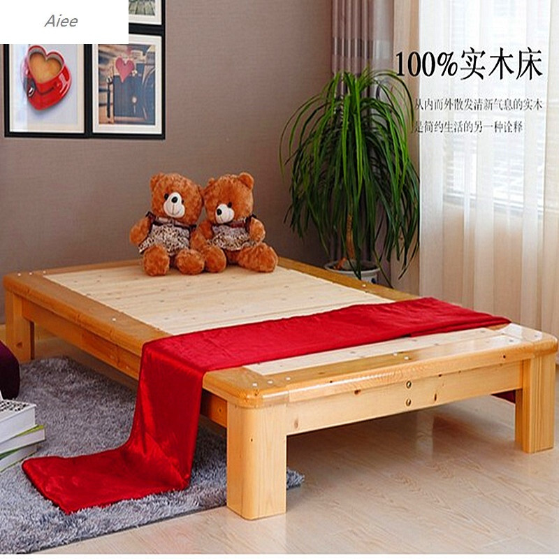 51.8平板床儿童床简约现代日式图片