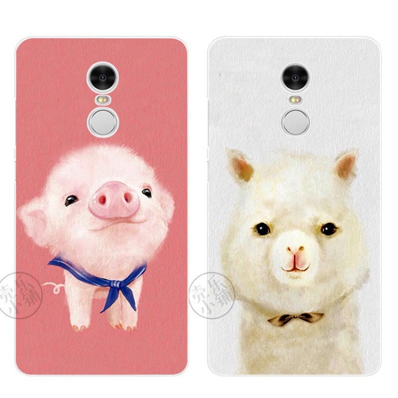 2 3 4 pro3s手机壳保护套软可爱山羊卡通粉红猪萌