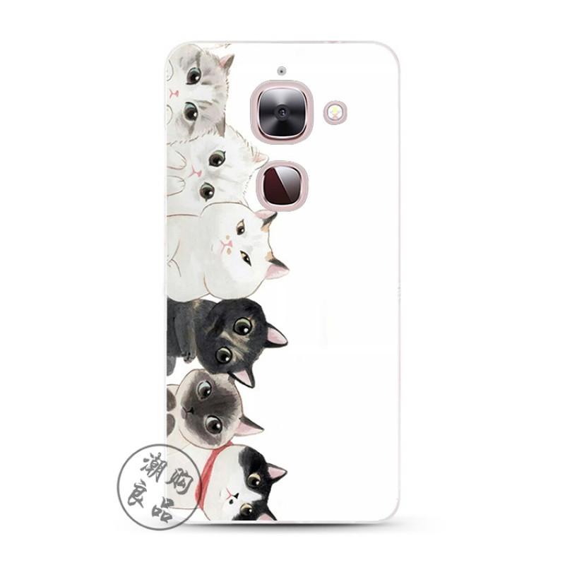 2017款个性可爱一排猫咪软硅胶全包乐视1/1s/2/pro3/max2手机软壳保护