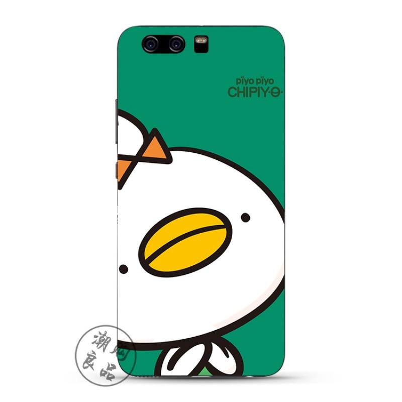 2017款华为p8/p9/p10/plus手机壳g9青春版硅胶超薄全包边卡通可爱黄嘴