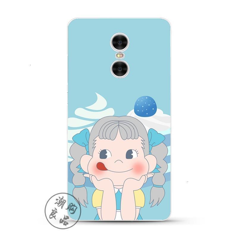 2017款小米红米note4x/3/2/4a/pro手机壳硅胶透明防摔日本可爱卡通