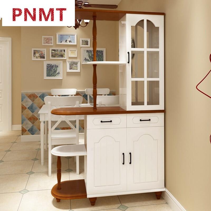 pnmt进门鞋柜欧式简约现代客厅小户型隔断挂衣帽架鞋柜大容量玄关柜子