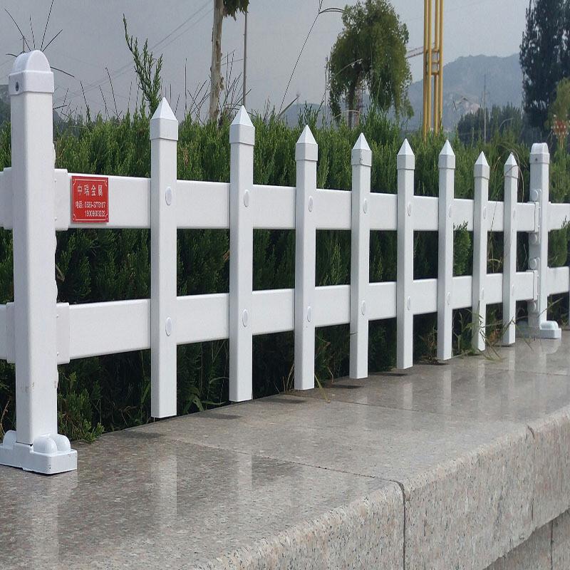 赠立柱pvc护栏庭院塑钢花园篱笆幼儿园户外菜园栏杆草坪围栏栅栏