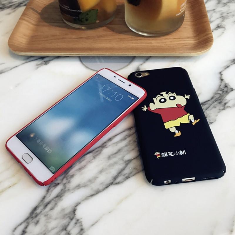 蜡笔小新oppor11手机壳r11p防摔磨砂a59可爱卡通r9s男女保护硬壳907