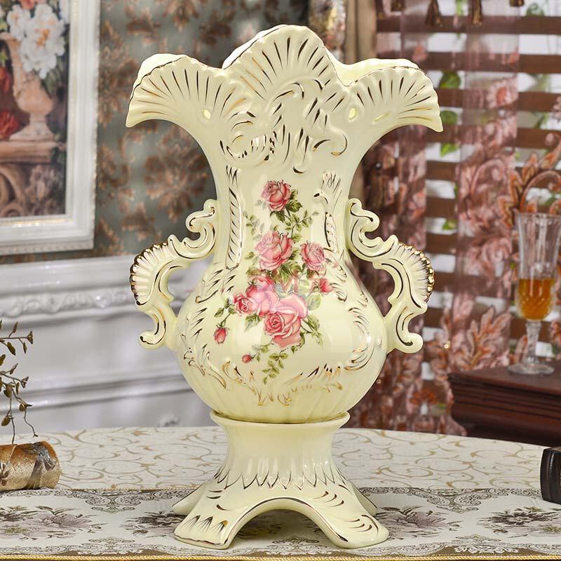 友来福花瓶摆件陶瓷家居装饰品摆件欧式图片