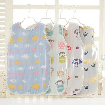902新款寶寶紗布肚兜嬰兒兒童大童大肚兜夏天空調房睡袋護肚圍春夏薄款定制