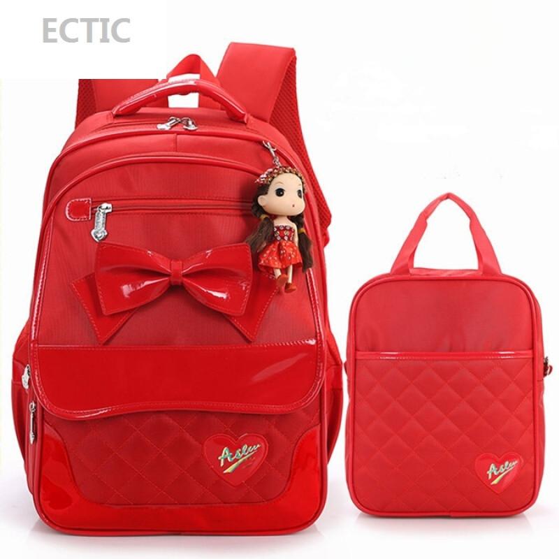 韩版可爱公主小学生书包女生三4五3-6四年级8-12岁10双肩儿童背包