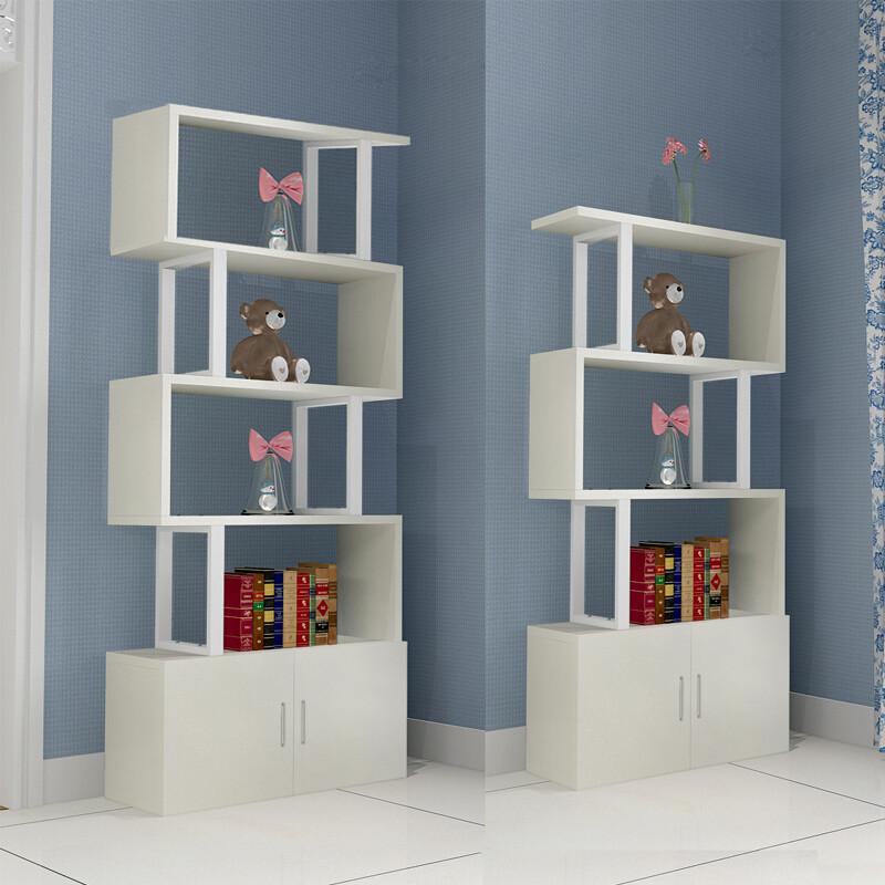 doxa客厅简易书柜书架置物架简约现代储物架格子柜自由组合小柜子隔断