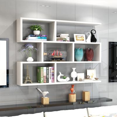 DOXA墙上置物架壁挂墙架吊柜挂柜墙壁柜现代简约墙柜书架书柜创意酒架