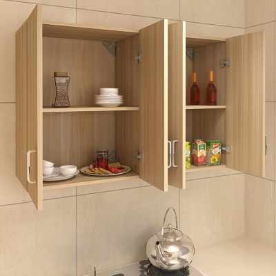 DOXA新款厨房吊柜橱柜阳台柜浴室柜厨房柜储物柜壁柜墙柜挂柜长140深40高60四门组装