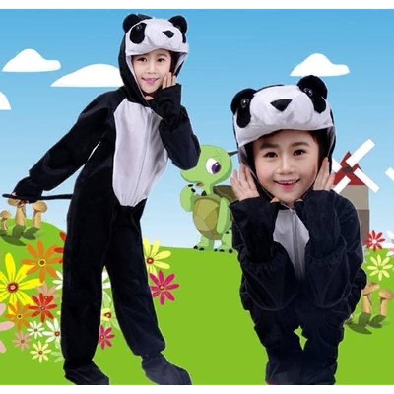 特价儿童小熊猫舞蹈演出服装 幼儿小猪表演服 奶牛动物服卡通扮演服饰