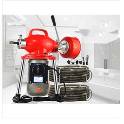 大功率电动管道疏通机下水道疏通器