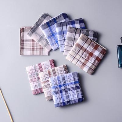 qma新款10條裝棉紗布手帕男士棉成人棉方巾小毛巾女款吸汗式手帕定制