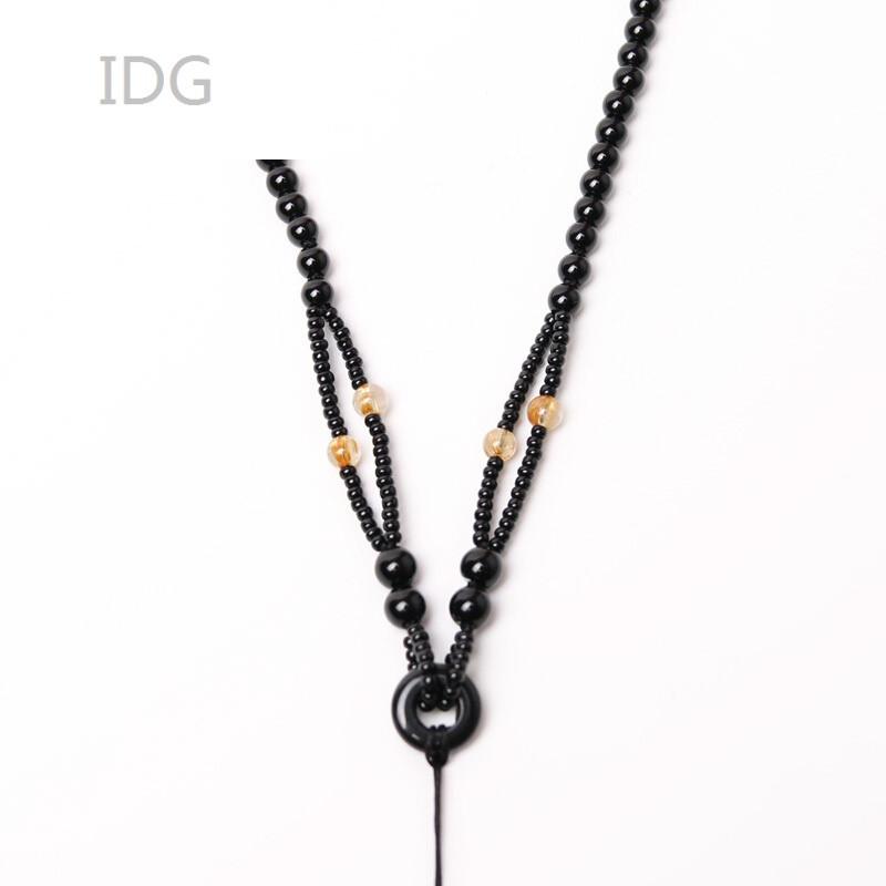 idg130diy配件挂绳手工编织饰品玉器玉坠吊坠项链绳吊坠绳子男女