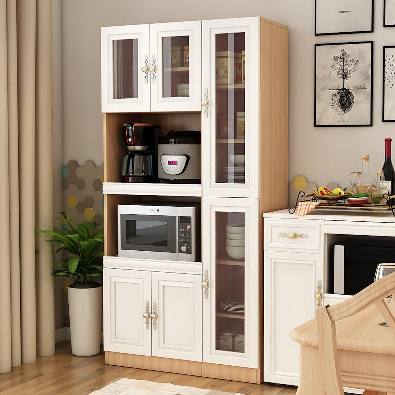 餐邊柜酒柜現代簡約儲物柜碗柜廚房柜收納柜客廳茶水柜歐式餐廳柜