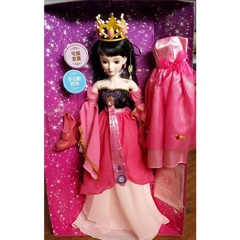 叶罗丽娃娃玩具高厘米衣服仙子公主女孩巴比娃娃套装礼盒
