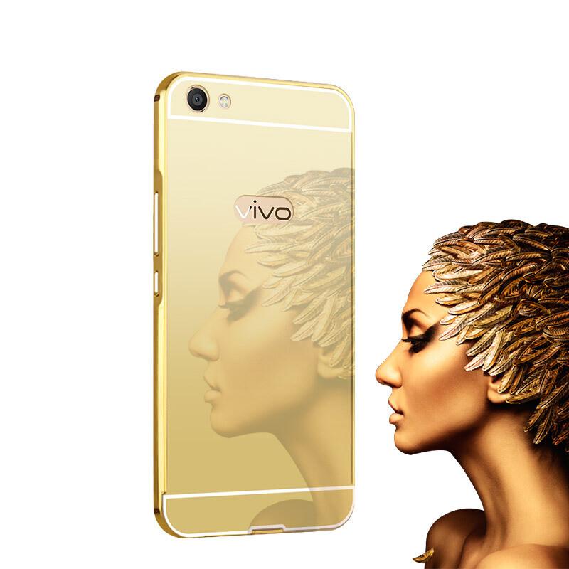 特七【送膜】vivox9s手机壳保护套/金属边框后盖全包硬壳x9splus防摔