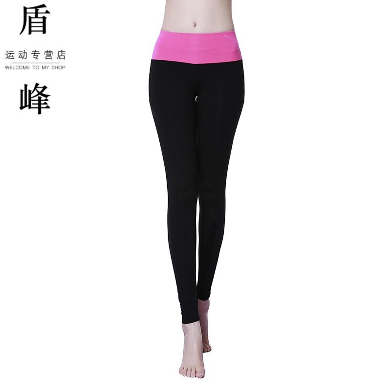 弹力减肥裤跑步辟谷健美操高紧身瑜伽九分健身台北跳舞图片