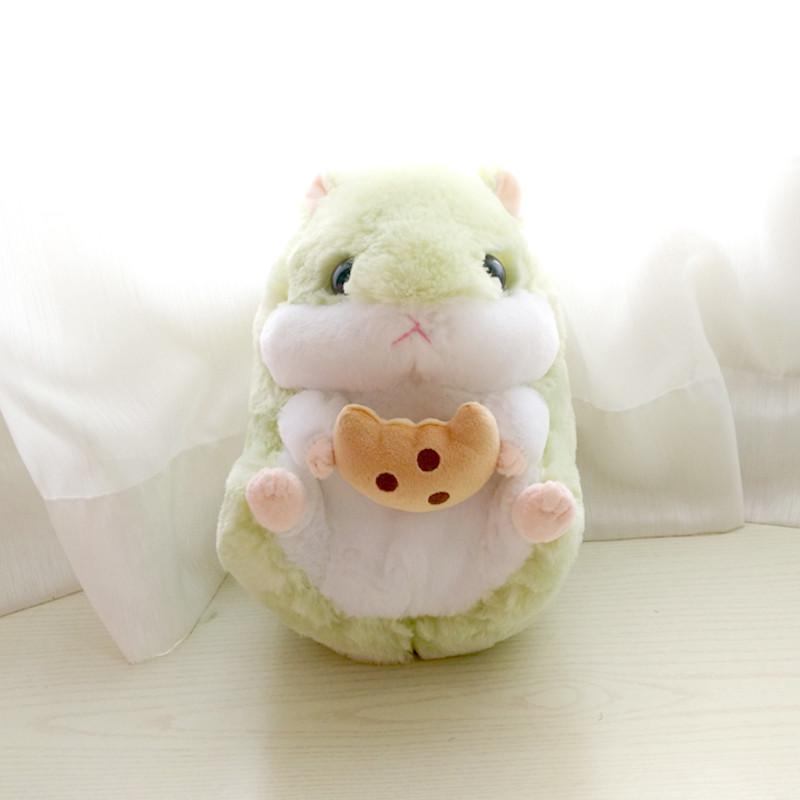 软萌胖仓鼠零食小仓鼠玩具豚鼠公仔抱枕儿童宝宝安抚抱枕