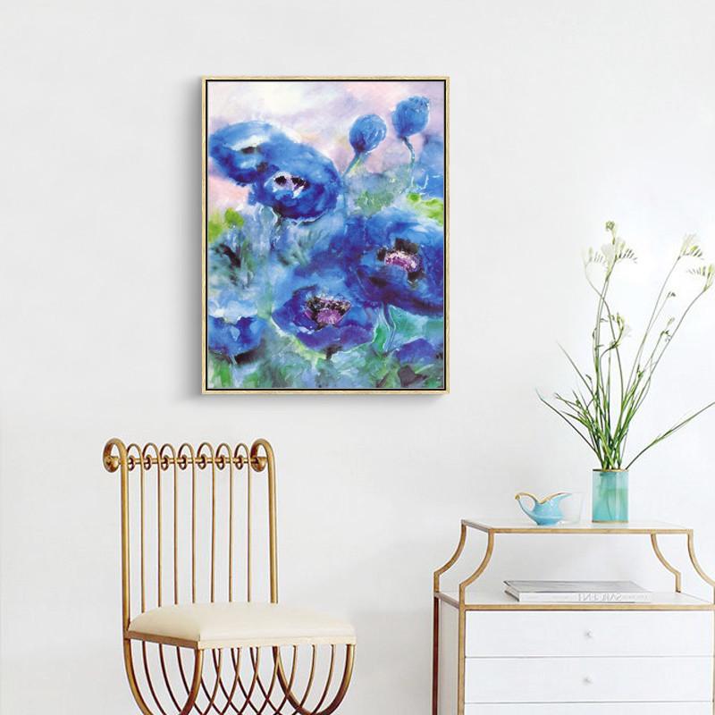北欧风现代简约抽象装饰画客厅厕所壁画电视沙发背景墙床头挂画图片