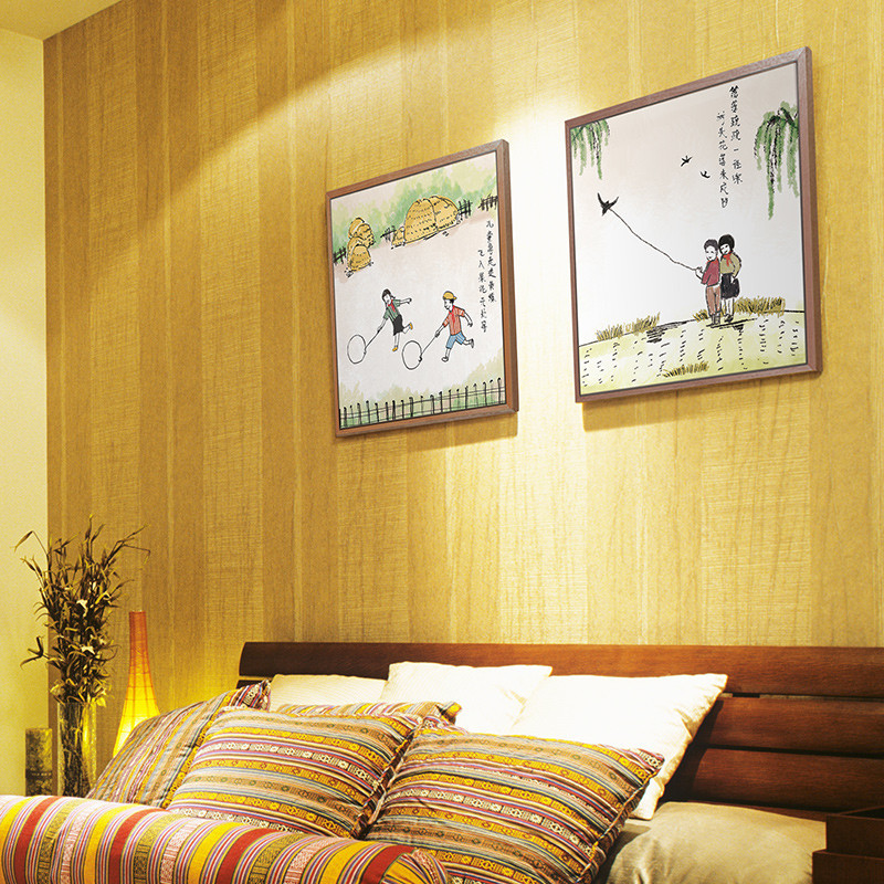 童趣装饰画家庭装饰室内装饰品创意挂画壁画客厅简欧大气三联布艺图片