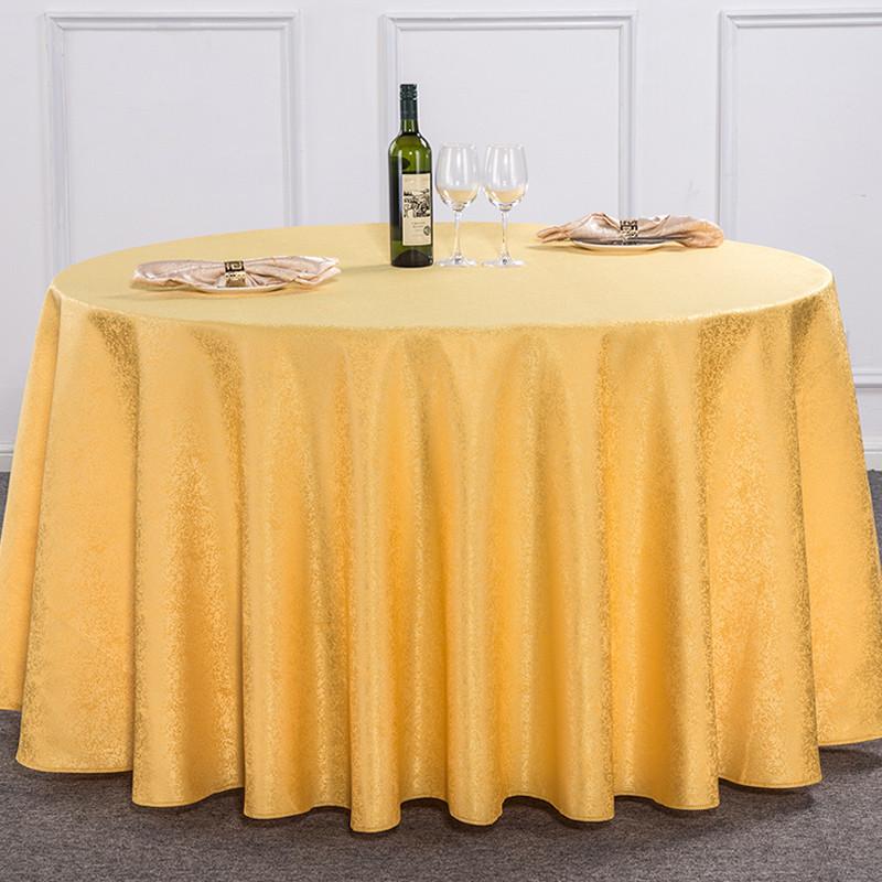 一次性台布加厚圆桌酒店餐厅