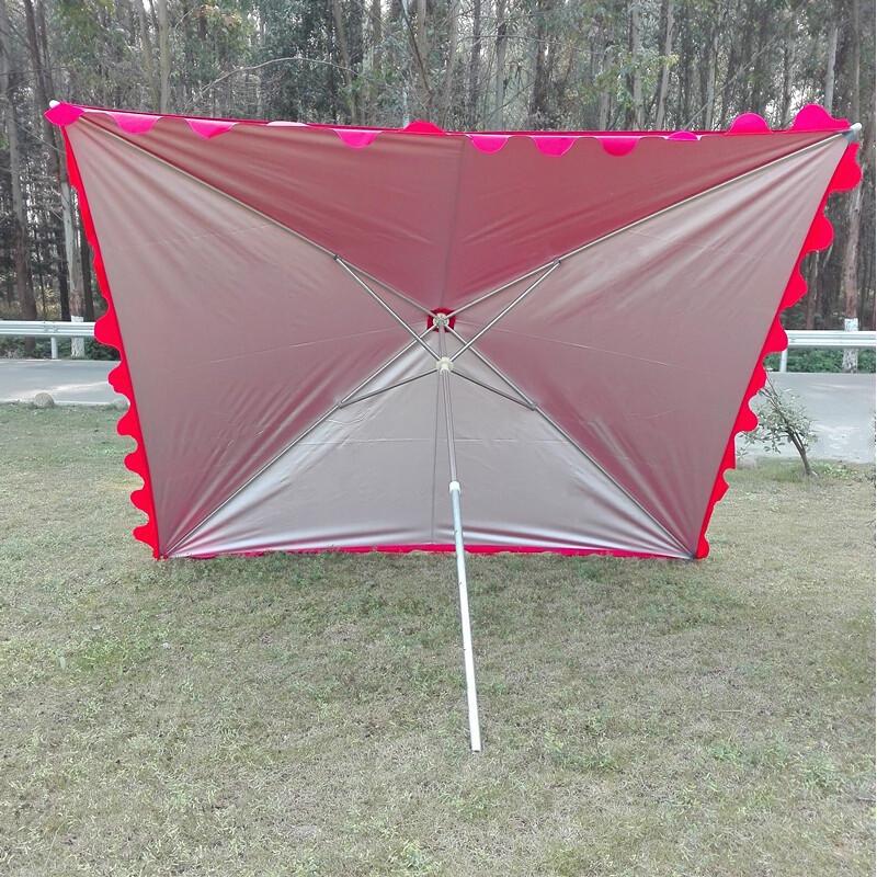 卓品佳镀锌钢管摆摊遮阳伞中柱长方形大伞斜伞户外沙滩伞帐篷伞雨伞