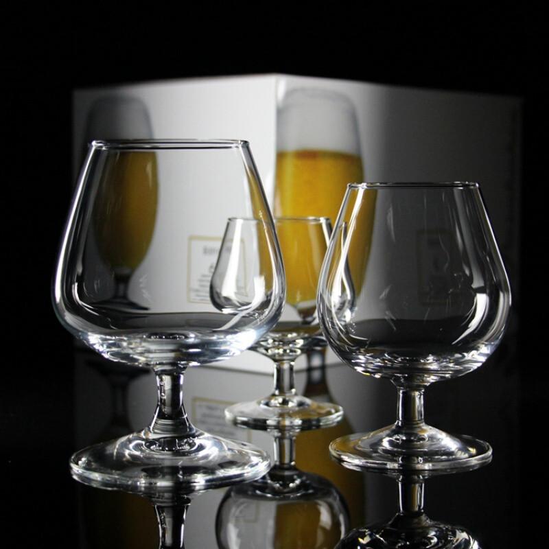 卓品佳细品干邑白兰地酒杯酒店玻璃洋酒杯矮脚杯红酒杯白酒杯烈酒杯图片