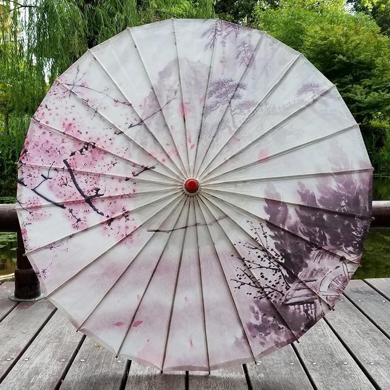 卓品佳中国风古风油纸伞古典江南防雨实用古代雨伞古装伞演出道具舞蹈
