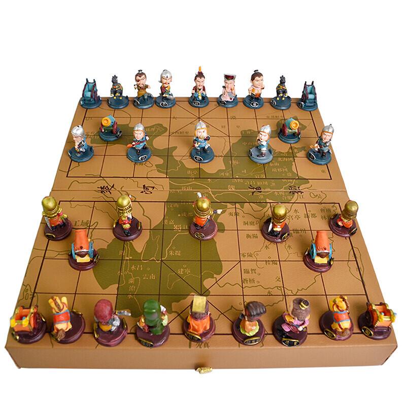 精装版简装版兵马俑q版西游记卡通人物象棋三国象棋树脂象棋
