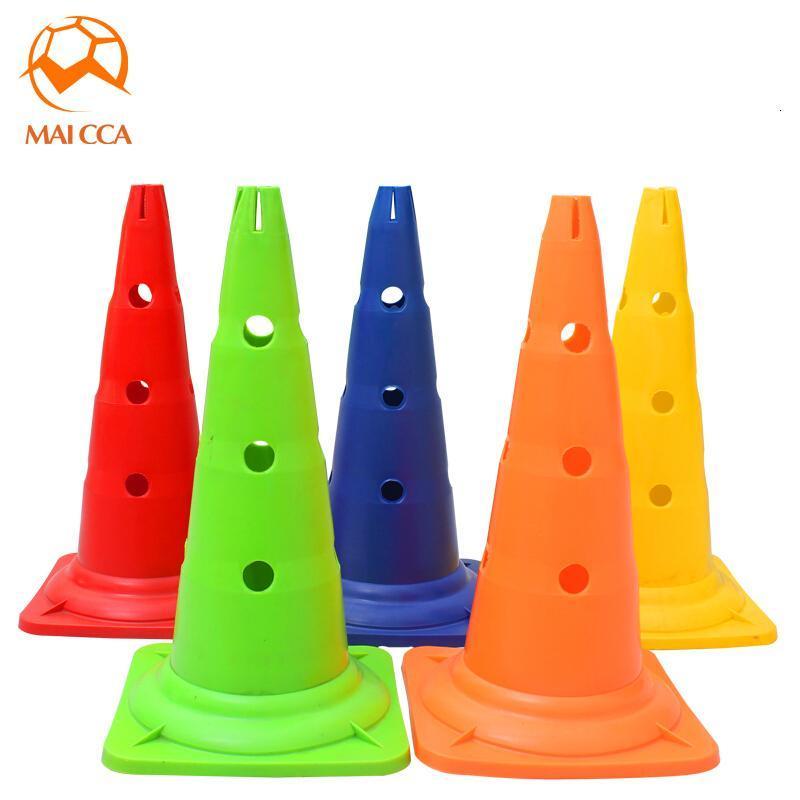 户外52cm足球标志桶标志锥筒路标路障训练锥障碍物足球训练器材