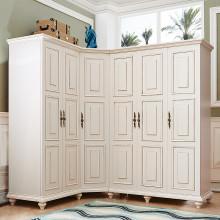 欧式美式实木衣柜图片_欧式美式实木衣柜图片大全第1图片
