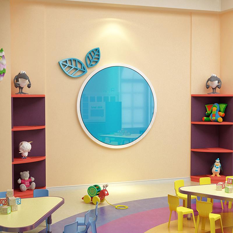 创意公告栏墙贴画幼儿园主题墙纸墙面装饰家园联系栏亚克力展示板图片